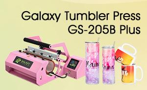 galaxy tumbler press