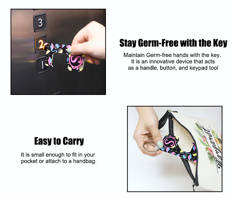 HPP Germ Free Key Chain