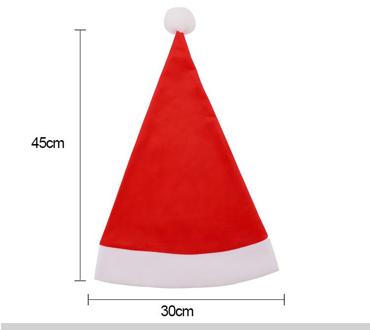 Sublimation Christmas Personalized Santa Hat