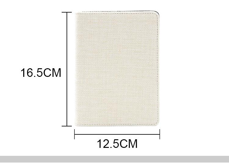 Linen Notebook-A6