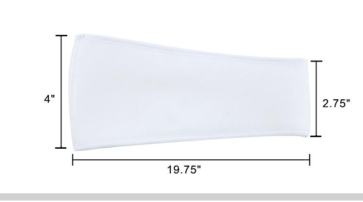 Ear Warming Band-Fleece White
