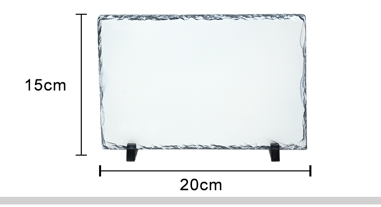 Photo Slate Middle Square Glossy/Matte-20*20