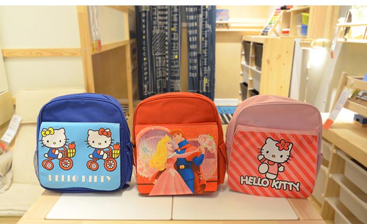Kids back pack-red/pink/blue