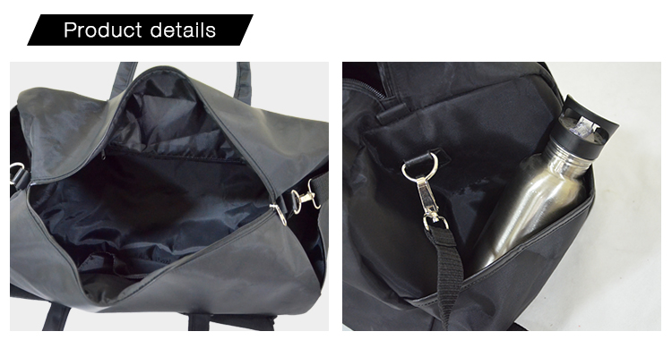 Gym Bag-Black