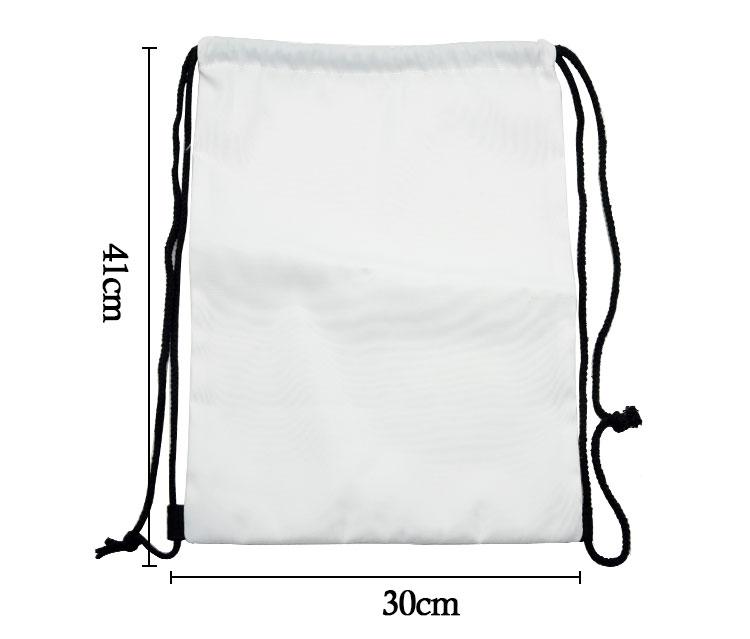 Canvas Drawstring String Bag