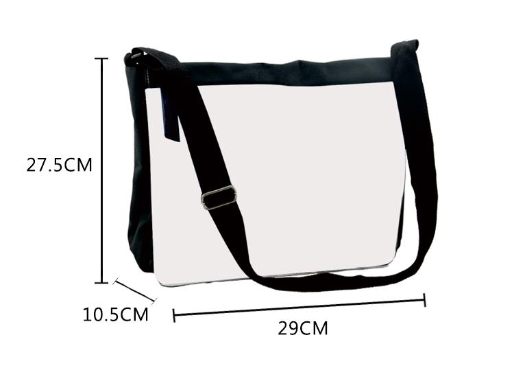 Shoulder Bag-Large-Black