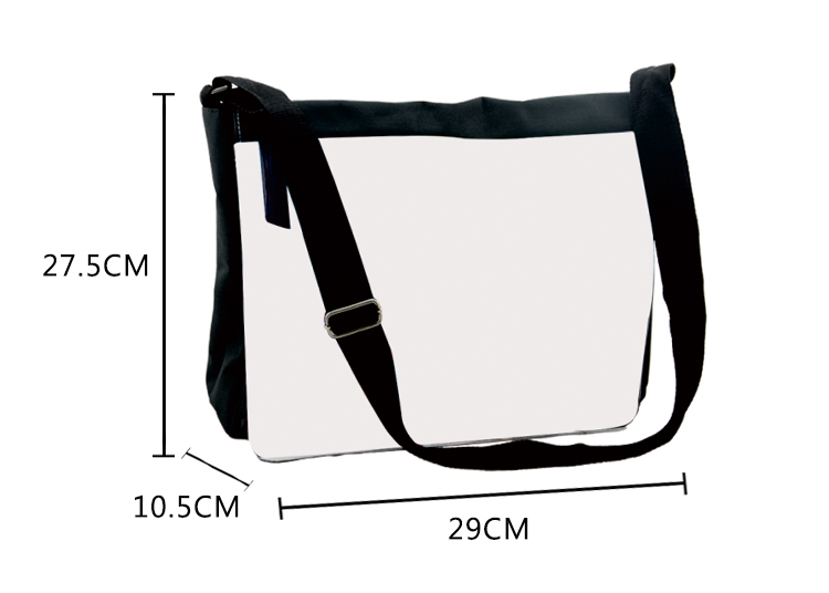 Shoulder Bag - Large - Black
