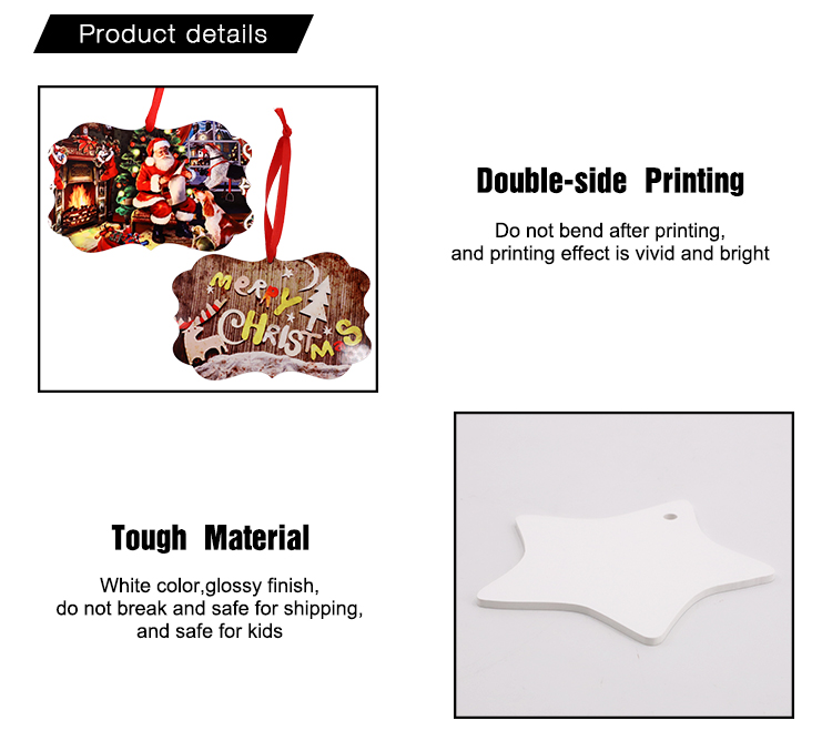 """HPP Double-sided Ornaments-Oval-3"""""""