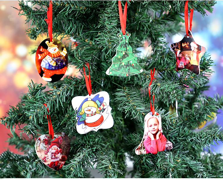 """HPP Double-sided Ornaments-Heart-3"""""""