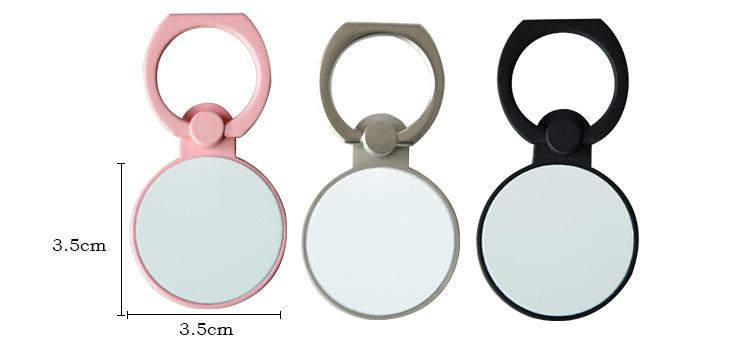 Mobile Ring Holder-Round Shape-Pink