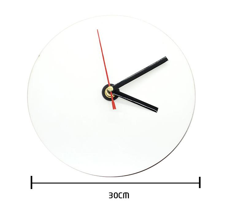 MDF Clock - Dia 30cm