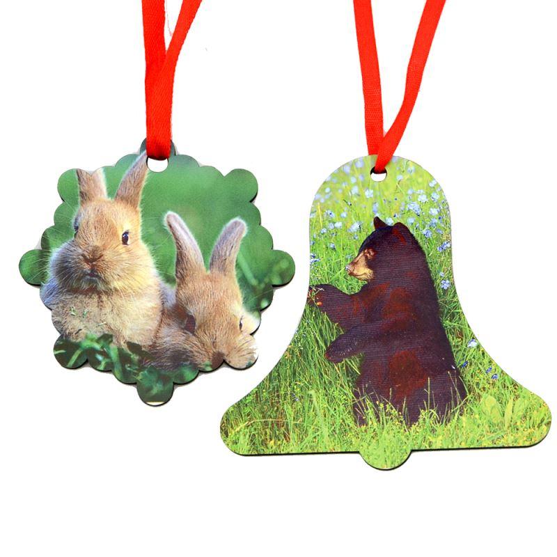 MDF Ornaments - Round Shape