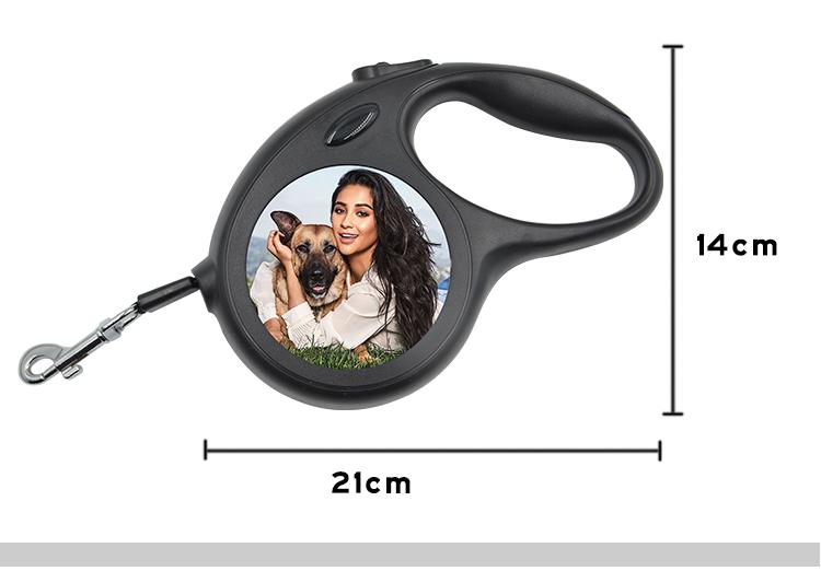 Pet Leash-Large-Black