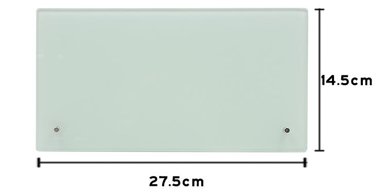 Glass Photo Panel-14.5*27.5CM