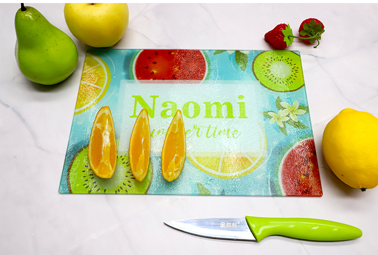 Glass Cutting Board-Large Rectangle-39*28.5CM