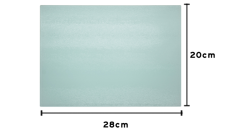 Glass Cutting Board -Small Rectangle -20*28CM
