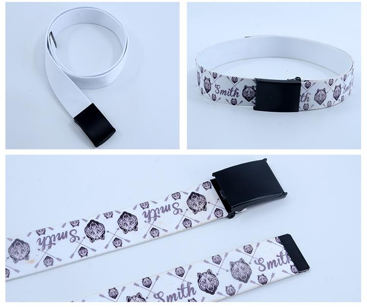 Sublimation Belt 4 x 120cm - Silver