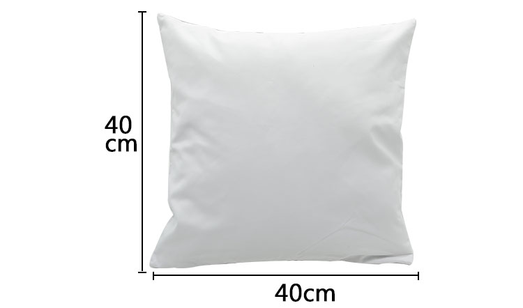 Thick Polyester Peach Skin Pillow Case - 40x40CM