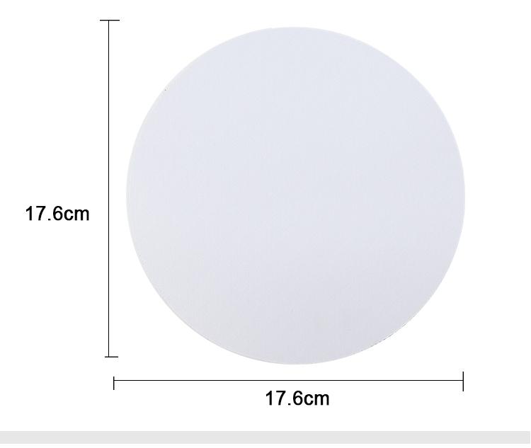 Mouse Pad-Round-Dia 17.6CM-3MM