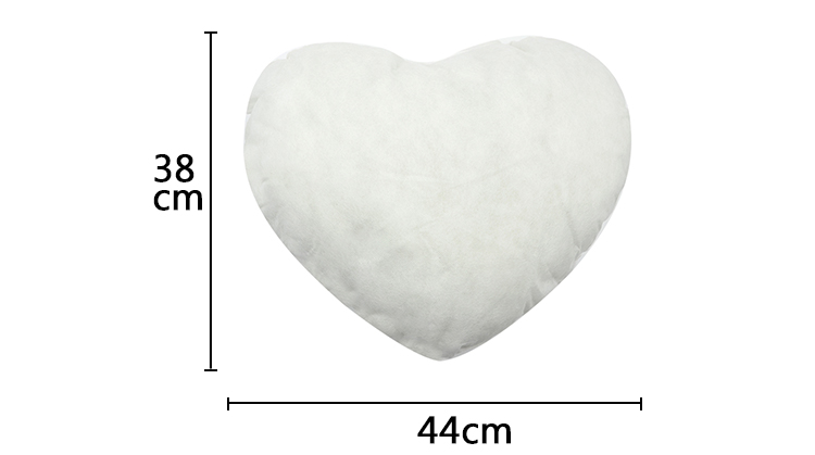 Pillow Filling - Heart shape 44x38cm
