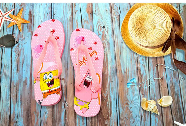 Kids Flip Flop-Pink Sole