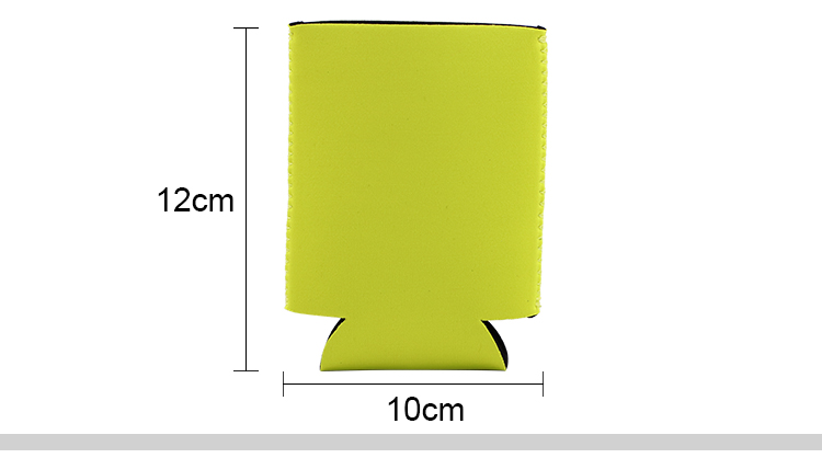 Neoprene Slip-On Can Cooler- Fits 12oz Can