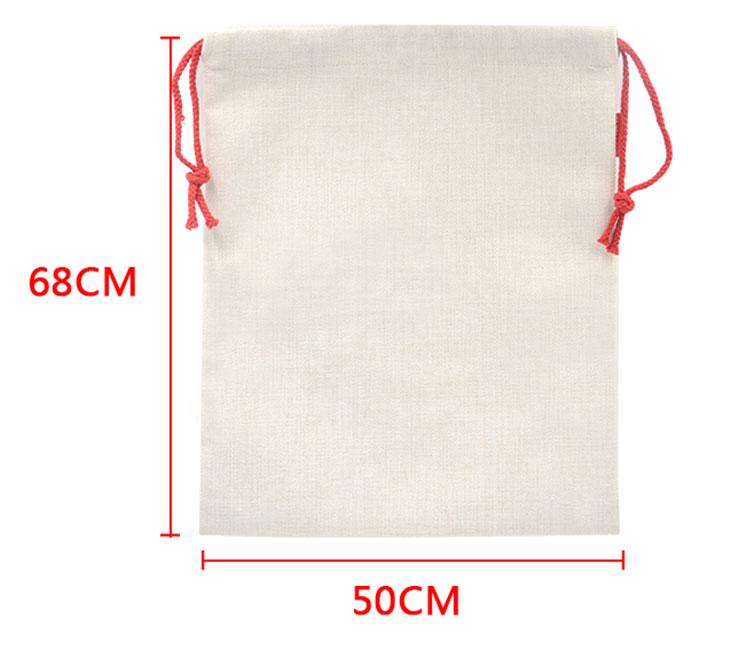 Linen Xmas Sack-Large