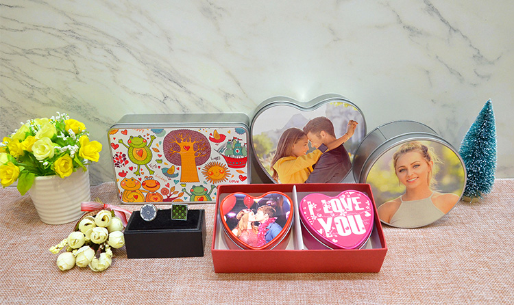 Sublimation Metal Tin box-Red
