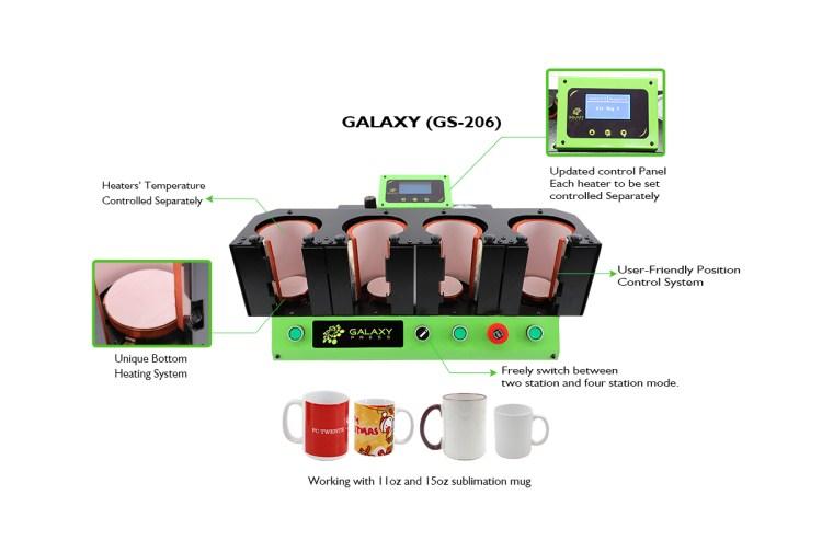 Galaxy Air Mug(11oz/15oz Mug) GS-206