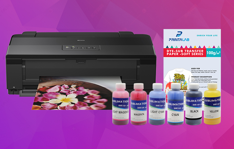 sublimation printer paper and ink