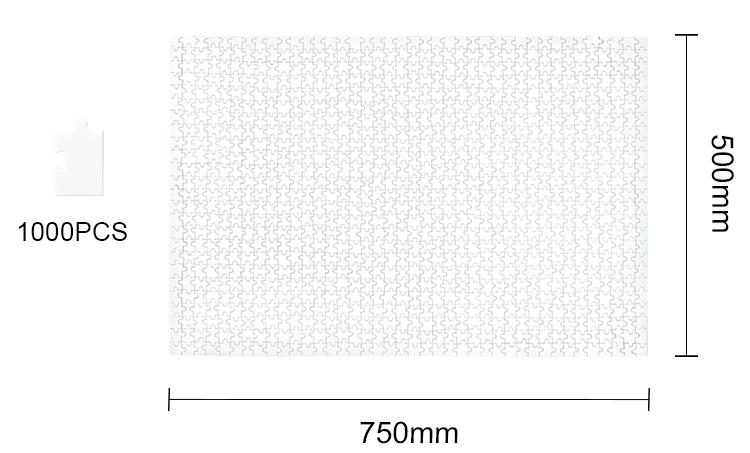 Sublimation A4 Size Jigsaw 7