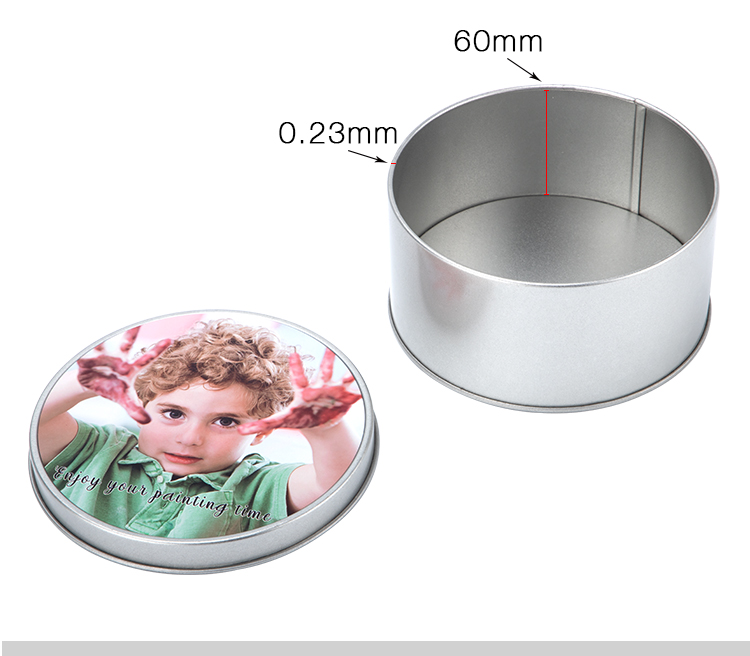 Sublimation Metal Tin-Round shape