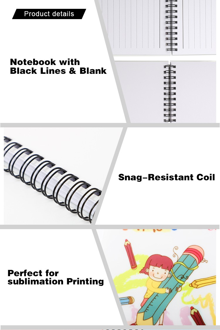 Plastic Notebook A6(With blank inner)-Glossy