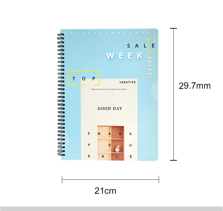 Plastic Notebook A4-Glossy