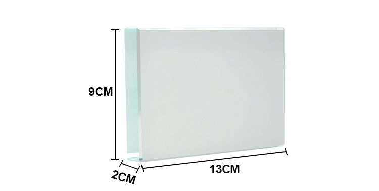 Crystal~Small Cubic 60*80*19mm