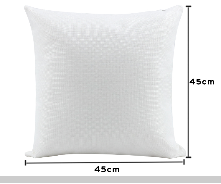 Linen Pillow Case Pure white