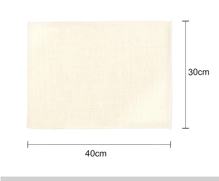 Linen Placemat-Dual Layer