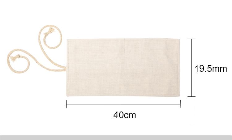 Linen Pencil Roll
