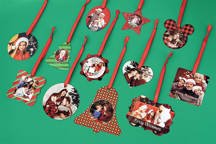 Double-side Printable Aluminum Ornaments-Oval Shape-2.36*2.99