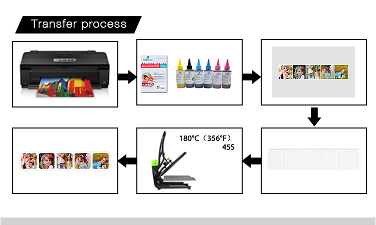 Plastic Photo block -35*7.5*2.5cm