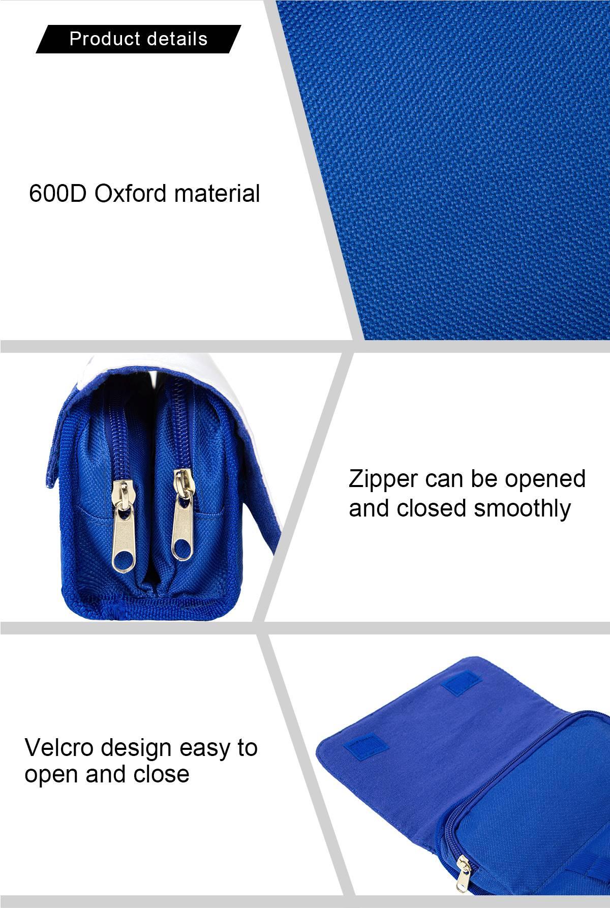 Sublimation Pencil Case - Pink/Blue