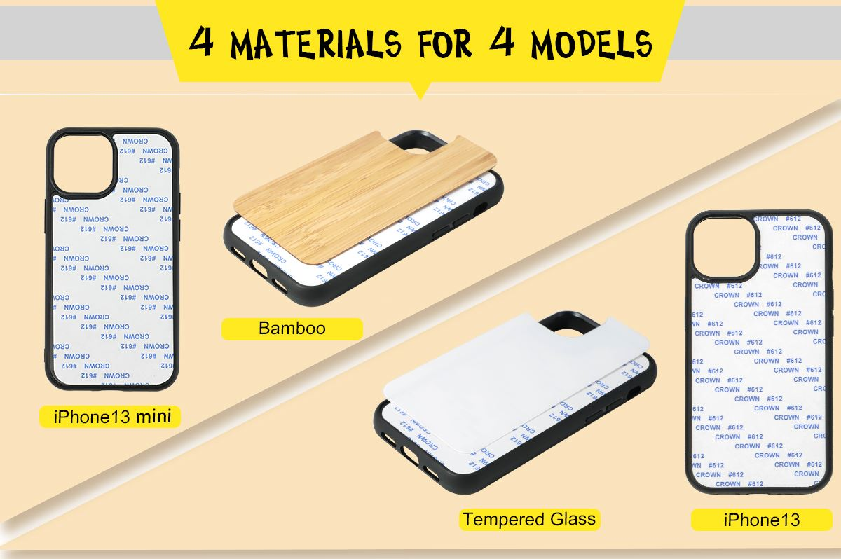 Sublimation Phone Case for iPhone 13 Series