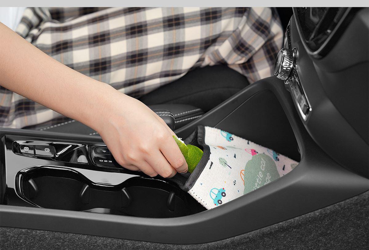 Sublimation Linen Car Trash Bag