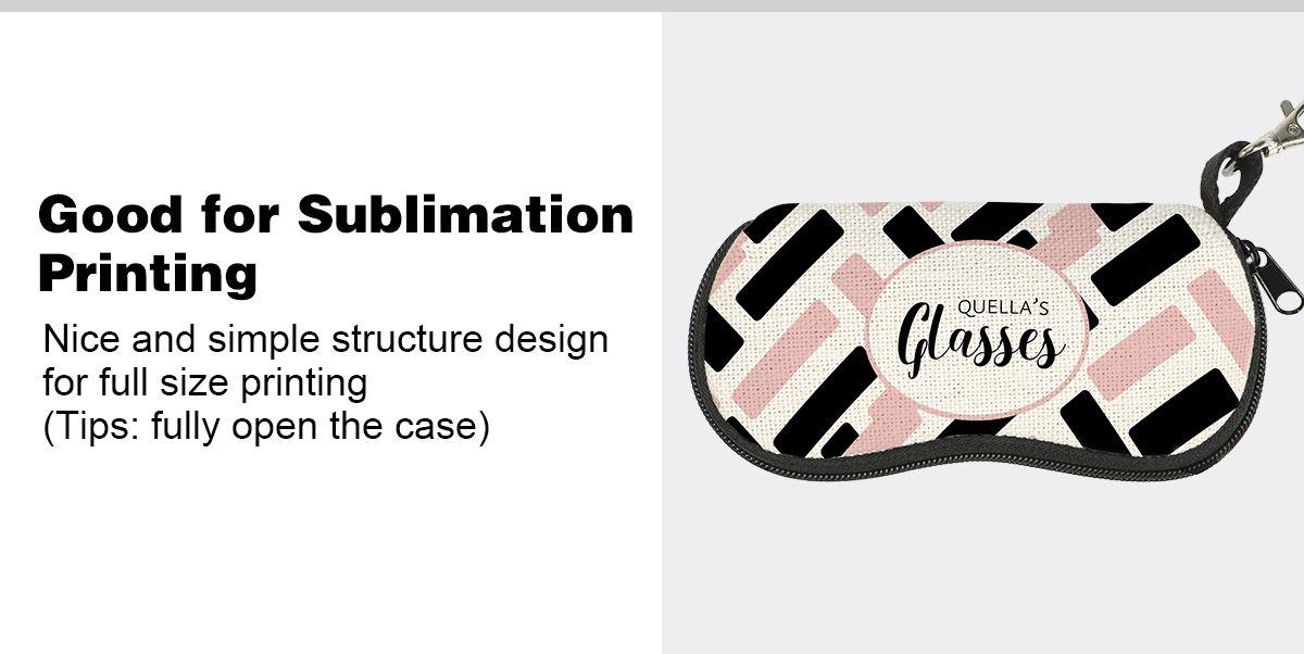 Sublimation Linen Glasses Case