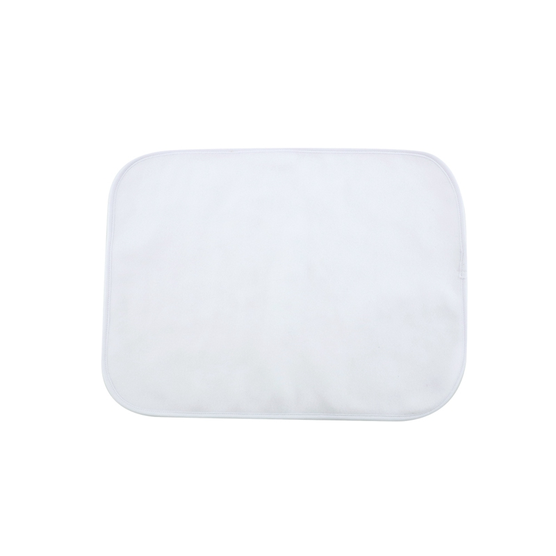 Baby Blanket-Fleece White-16