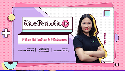 Home Decoration-Pillow Collection & Kitchenware
