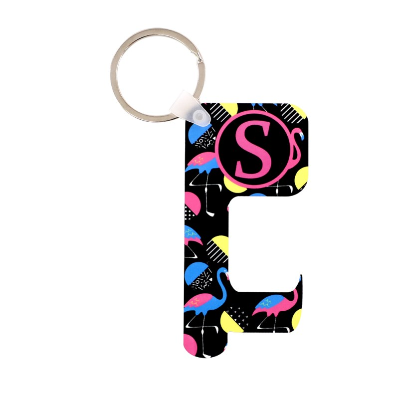 Sublimation HPP Germ Free Key Chain