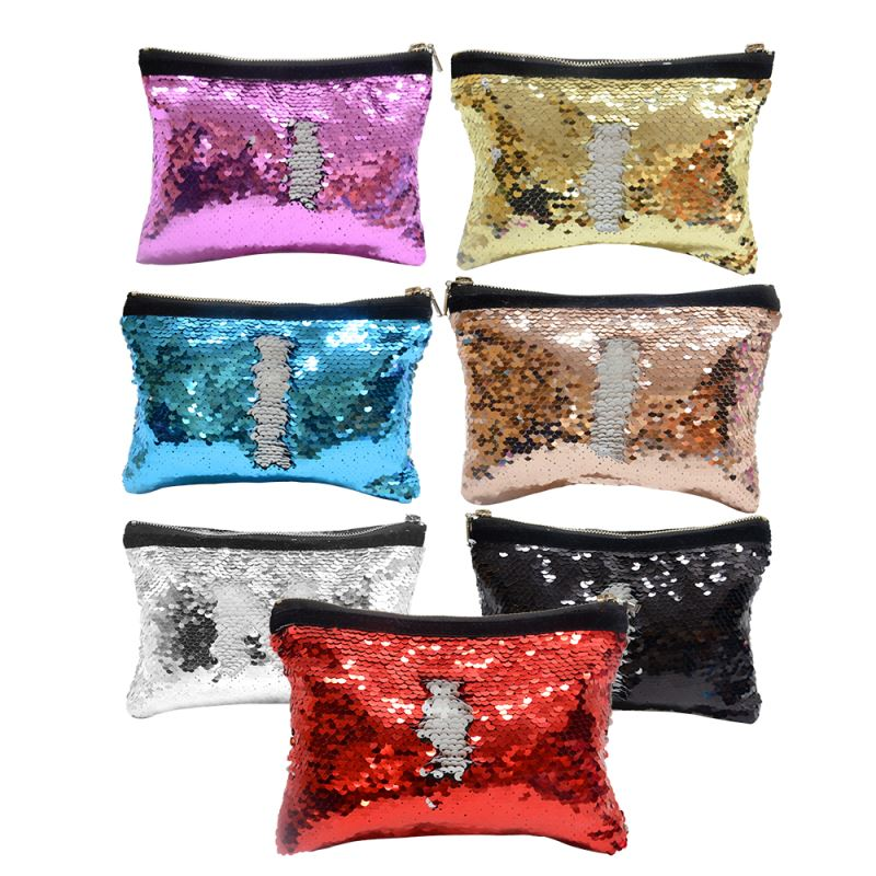 sublimation sequin handbag
