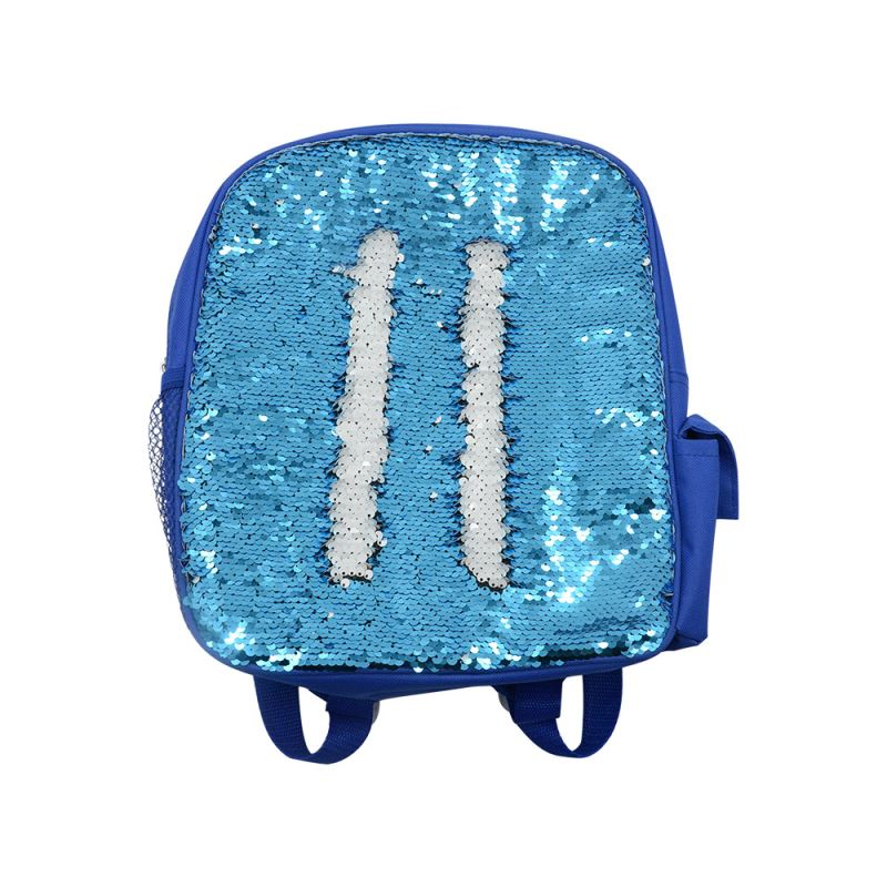 Sequin Kids Backpack-Blue
