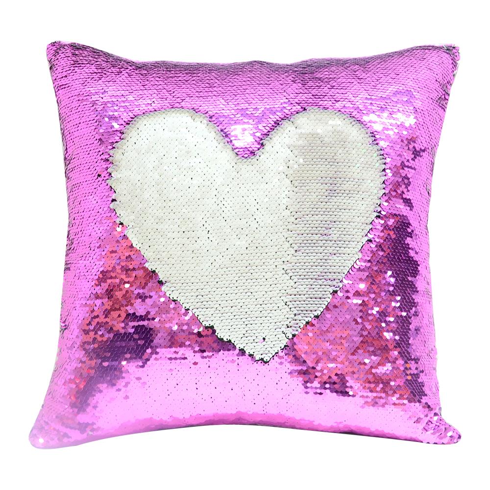 sequin pillow case sublimation